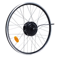 Rear Wheel X15 motor and rim  [27.5 Black]