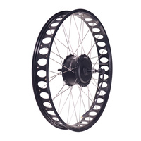 LEISGER Rear Motor Wheel RM600S6-22 [26 Black] for Aspen